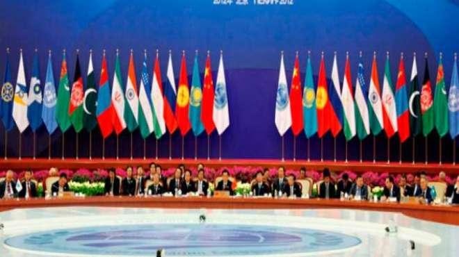 پاکستان دہشت گردی کے خاتمے کے لیے شنگھائی تعاون تنظیم کے رکن ملکوں ..