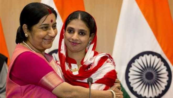 بھارتی لڑکی گیتا کے لئے 50 رشتے آ گئے،25 کو شارٹ لسٹ کرلیا گیا