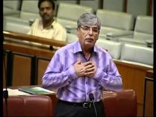 سینیٹر الیاس احمد بلور کا عمران خان کے 11 نکاتی ایجنڈے پر شاہ محمود قریشی ..