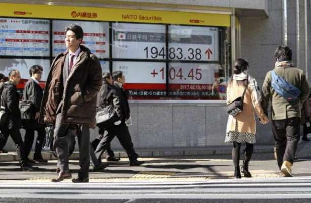 ٹوکیو سٹاک مارکیٹ اضافے پر بند