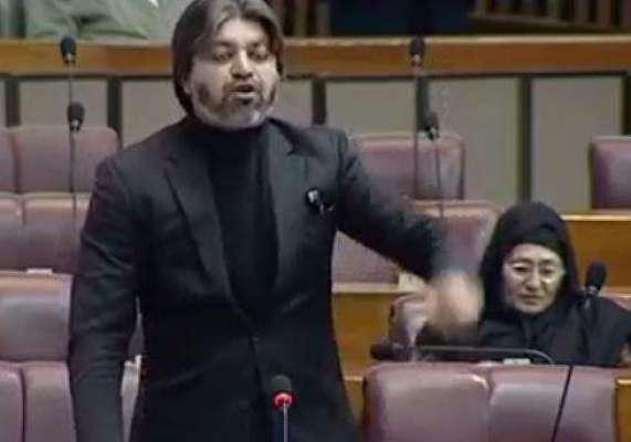 تحریک انصاف کے رکن محمد علی خان نے پارلیمنٹ میں زینب کا واقعہ بیان کر ..