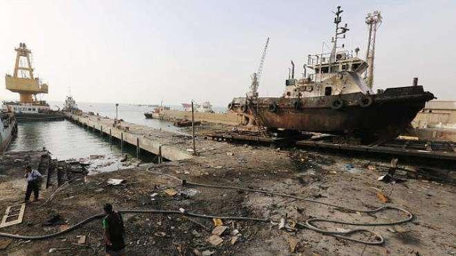 یمنی بندرگاہ پر قبضے کی جنگ، 20سرکاری فوجی اور 110حوثی ہلاک