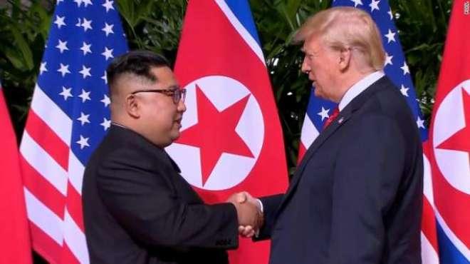 امریکی صدر ٹرمپ اور شمالی کوریا کے سربراہ کم جونگ ان نے تمام تلخیاں ..