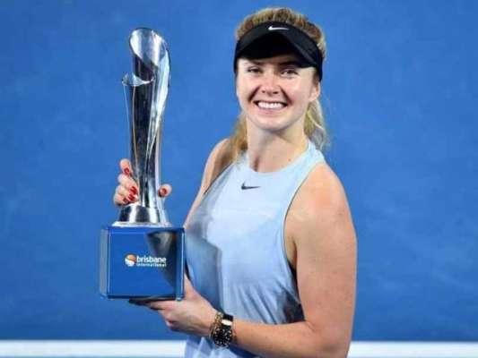 ایلینا سویتولینا اٹالین اوپن ٹینس ویمنز سنگلز فائنل میں پہنچ گئیں