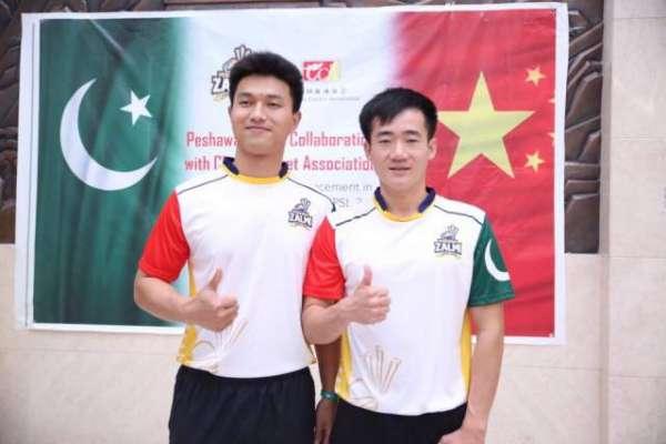 چینی کرکٹرز نے پاکستانی کھلاڑیوں کے ساتھ ٹریننگ اپنی زندگی کا یادگار ..