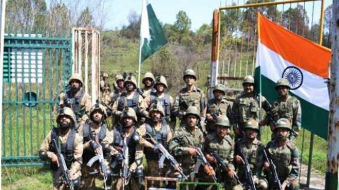 پاکستان اور بھارت پہلی مرتبہ ایک ساتھ فوجی مشقوں میں حصہ لیں گے
