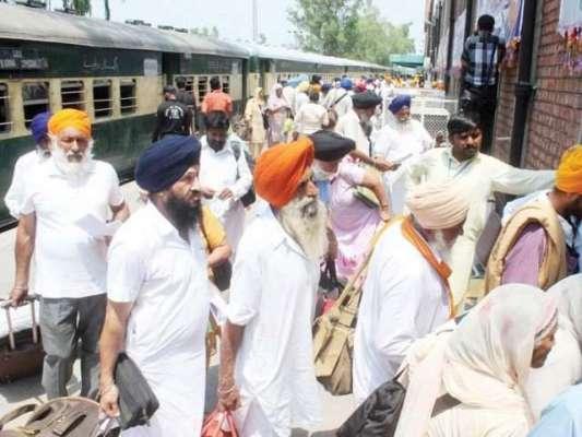 بھارتی سکھ یاتریوں کے ساتھ دیگر مذاہب کے لوگوں کی پاکستان آمد پر پابندی ..
