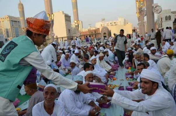 سعوی عرب، افطار کرانے کے خواہشمندوں سے درخواستیں طلب
