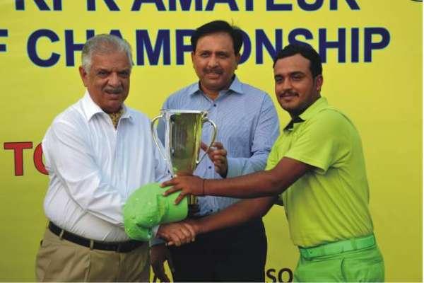 تیمور نصیر نے تیسری مرتبہ اصغر خان گالف چیمپئن شپ جیت لی