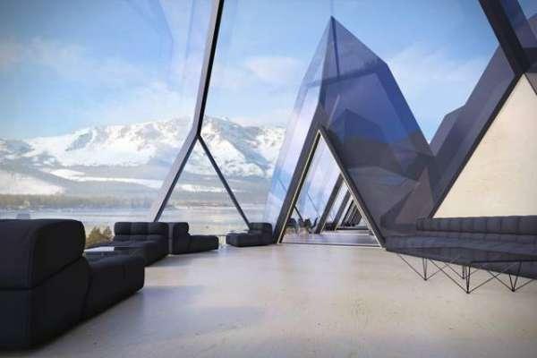 کینیڈین کمپنی کا نئے ہوٹل کا ڈیزائن پیش،