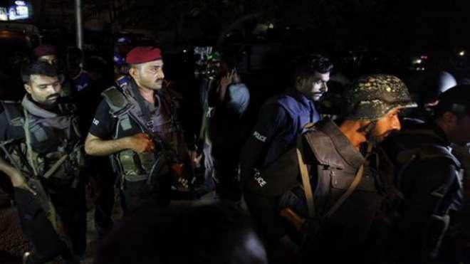 پشاور میں سیکورٹی فورسز اور دہشت گردوں کے درمیان شدید لڑائی، شہادت ..