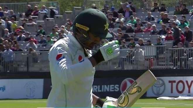 آئرلینڈ کیخلاف تاریخی ٹیسٹ میچ، پاکستان کی بیٹنگ لائن بری طرح لڑکھڑا ..