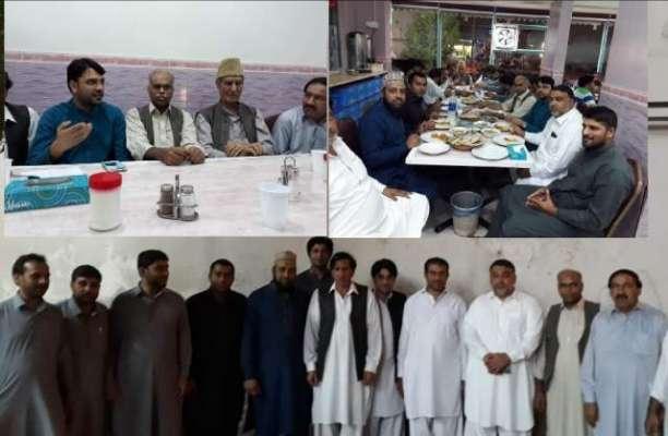 انٹرنیشنل کشمیر پریس کلب کے زیر اہتمام ایک مقامی مطعم میں تقریب کا ..