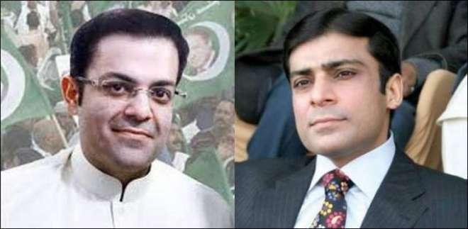 حمزہ شہباز اور سلمان شہباز کے اکاؤنٹس میں مشتبہ ٹرانزیکشن کا انکشاف