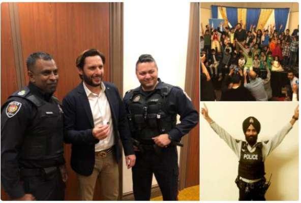 کینیڈین پولیس بھی بوم بوم آفریدی کی مداح نکلی