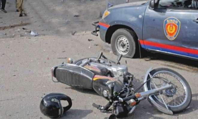 رمیش لال کے اسکواڈ میں شامل پولیس موبائل کی ٹکر سے 2 نوجوان جاں بحق ،ْ ..