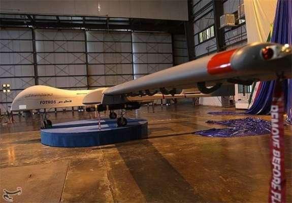 ایران نے گائیڈڈ راکٹ اور میزائل فائر کرنے کی صلاحیت رکھنے والا ڈرون ..