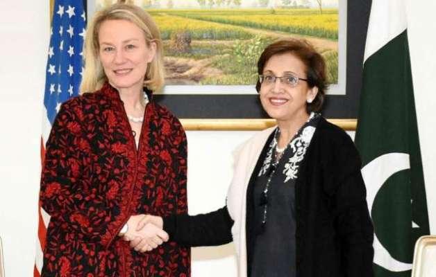 قائم مقام نائب امریکی وزیرخارجہ ایلس ویلز اسلام آباد پہنچ گئیں
