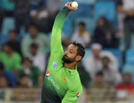 پاکستانی آل راؤنڈر محمد حفیظ کا باولنگ ایکشن کلیئر قرار دے دیا گیا