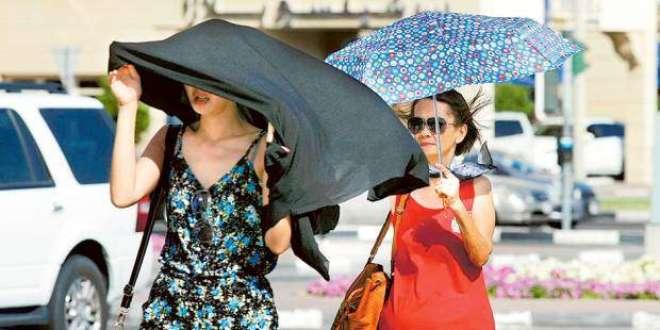 متحدہ عرب امارات شدید گرمی کی لپیٹ میں