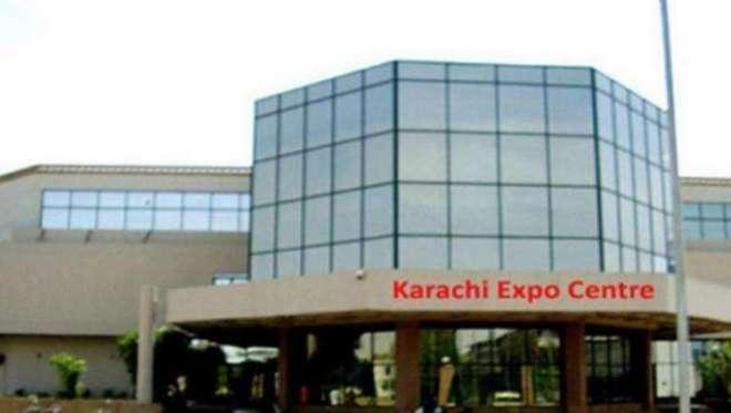 آٹھ ارب روپے کی لاگت سے کراچی ایکسپو سینٹر کے توسیعی منصوبے کا سنگ ..
