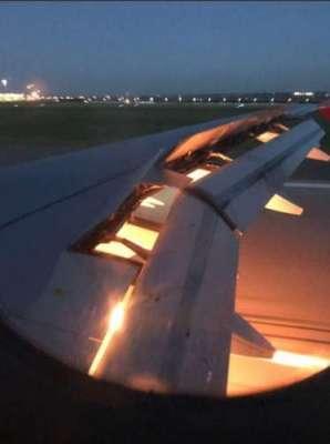 سعودی فٹبال ٹیم کے طیارے میں دوران پرواز آتشزدگی ،ْکھلاڑی محفوظ رہے