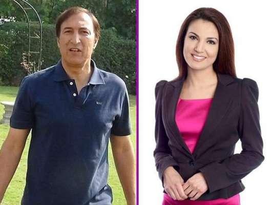 ریحام خان کے پہلے شوہر نے ریحام خان کے لیے خطرے کی گھنٹی بجا دی