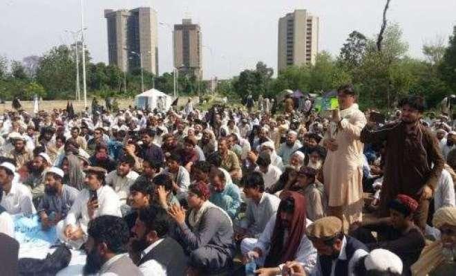 شمالی وزیرستان: تاجروں کاآپریشن میں نقصانات کےازالےکیلئےاحتجاج
