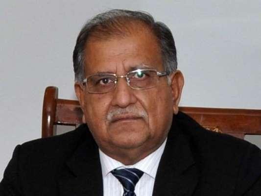 پاکستان میں میرا ایک ہی بینک اکاؤنٹ ہے،ریاض پیرزادہ