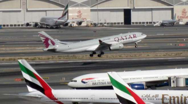 امارات کی قطر کے خلاف شہری ہوابازی میں رخنہ ڈالنے کی شکایت کی حمایت ..