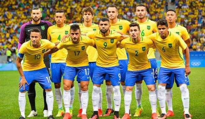 برازیلین فٹ بال ٹیم 17جون کو عالمی ٹائٹل کیلئے مہم کا آغاز کرے گی