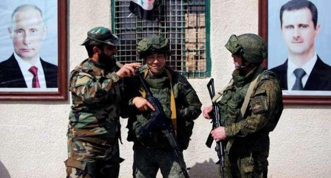 حیران کن پیش رفت، روس کا شام سے ایرانی فوج کے مکمل انخلاء کا اعلان
