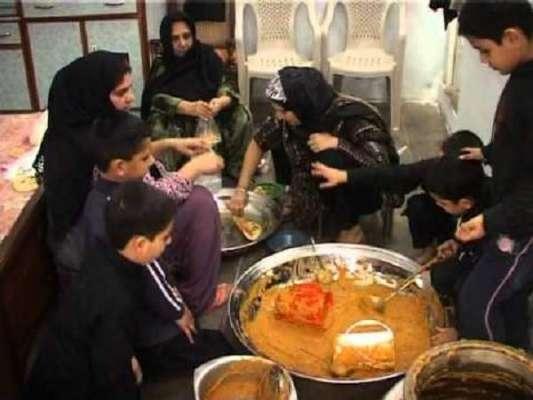 ملک بھر میں نویں محرم الحرام کی مناسبت سے نذر و نیاز تقسیم کرنے کا اہتمام ..