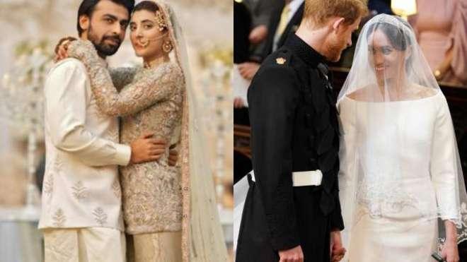 شہزادے ہیری اور میگھن کی شاہی شادی نے اپنی محبت کی کہانی یاد دلادی'اداکارہ ..