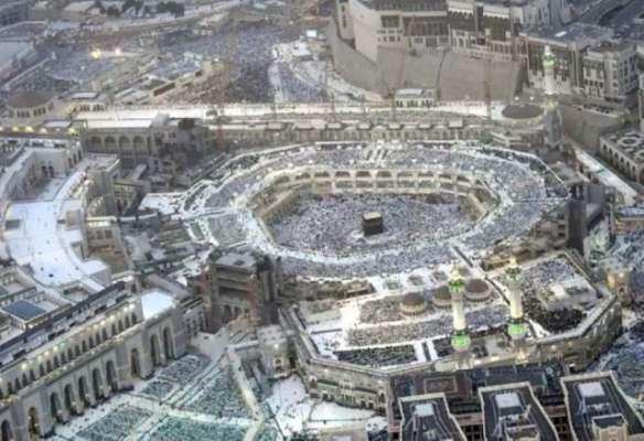 سعودی عرب: 27 رمضان المبارک کی رات کو حرم شریف میں لاکھوں لوگوں کا اجتماع