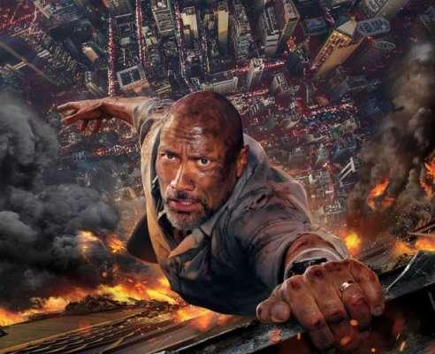 دی راک'کی ایکشن سے بھرپور نئی ایڈنچر تھرلر فلم' اسکائی اسکریپر'کی ..