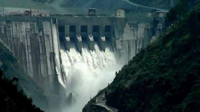 بھارت کی آبی جارحیت، مقبوضہ کشمیر کے بگلیہار ڈیم پر دریائے چناب کا ..