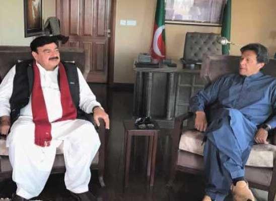 شیخ رشید نے عمران خان کیساتھ اتحاد ختم کرنے کی دھمکی دے دی
