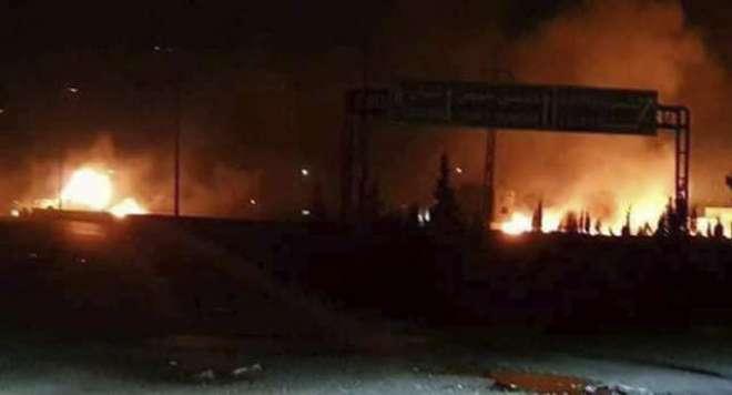 شام میں اسرائیلی حملے میں 11 ایرانی ہلاک ہوئے، المرصد گروپ