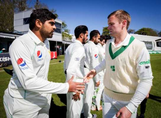 آئرلینڈ کیخلاف تاریخی ٹیسٹ میچ پاکستان کو بہت مہنگا پڑ گیا، ٹیم کا ..