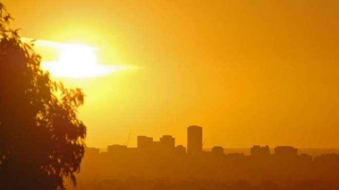 شہر قائد میں درجہ حرارت پیر کو بھی 43 ڈگری سینٹی گریڈ تک پہنچ گیا
