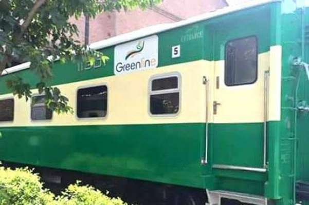 گرین لائن ٹرین حادثے کا شکار ہوگئی