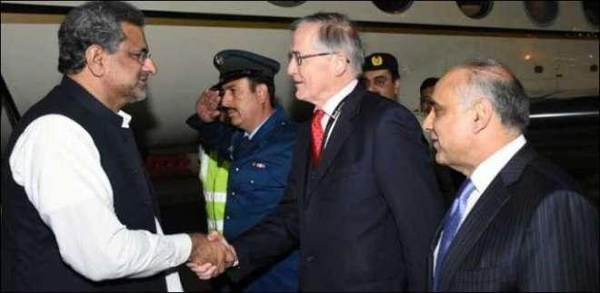 وزیر اعظم شاہد خاقان عباسی دولت مشترکہ کے سربراہی اجلاس میں شرکت کے ..
