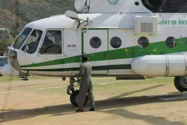خیبر پختونخوا حکومت نے سرکاری ہیلی کاپٹر کے استعمال کے حوالے سے نیا ..