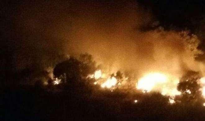 سعودی عرب میں خوفنال ہیلی کاپٹر حادثہ، متعدد جاں بحق