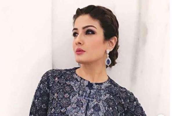 اداکارہ روینہ ٹنڈن کو'' می ٹو'' مہم میں ہونیوالے انکشافات نے افسردہ ..