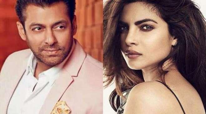 سلمان خان اور پریانکا چوپڑا فلم ''بھارت'' کے لئے سپیشل ہولی گانا ..