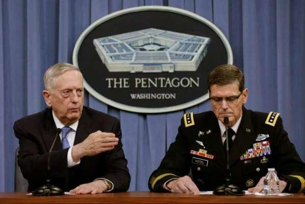 امریکا کی سول اور فوجی قیادت افغان تنازع کے غیر عسکری حل پر یقین رکھتی ..