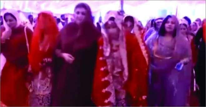 خوشاب میں ن لیگ کی جانب سے اجتماعی شادیوں کی تقریب دھوکہ نکلی