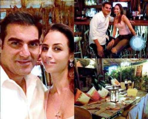 ملائیکہ اروڑہ سے طلاق کے بعد ارباز خان بے باک ماڈل سے ''پیار کی پینگیں ..
